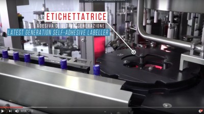 Here is the video of the latest model in our range of adhesive labeling machines